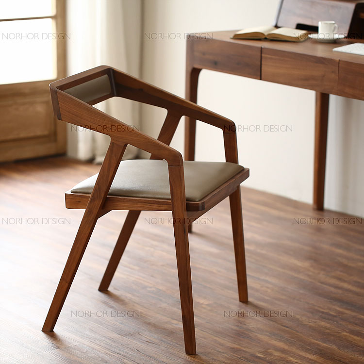 Small Apartment Modern Minimalist Wood Dining Table Nordic Retro Big Round Ta