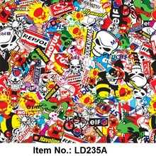 Hot Sale Exclusive Design NO.LD235A Hydrographic & Water Transfer & Aquaprint Film(China (Mainland))