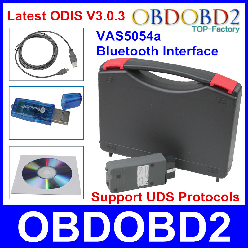 Фотография Professional A+ VAS5054a Bluetooth Interface ODIS ODIS V3.0.3 VAS 5054a For VW/Skoda/Seat/Bentley/Lamborghini Multi-Language