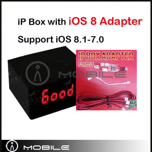 Brand New For iP Box for iP-Box with 8.0 Adapter Free Shipping by DHL EMS(China (Mainland))