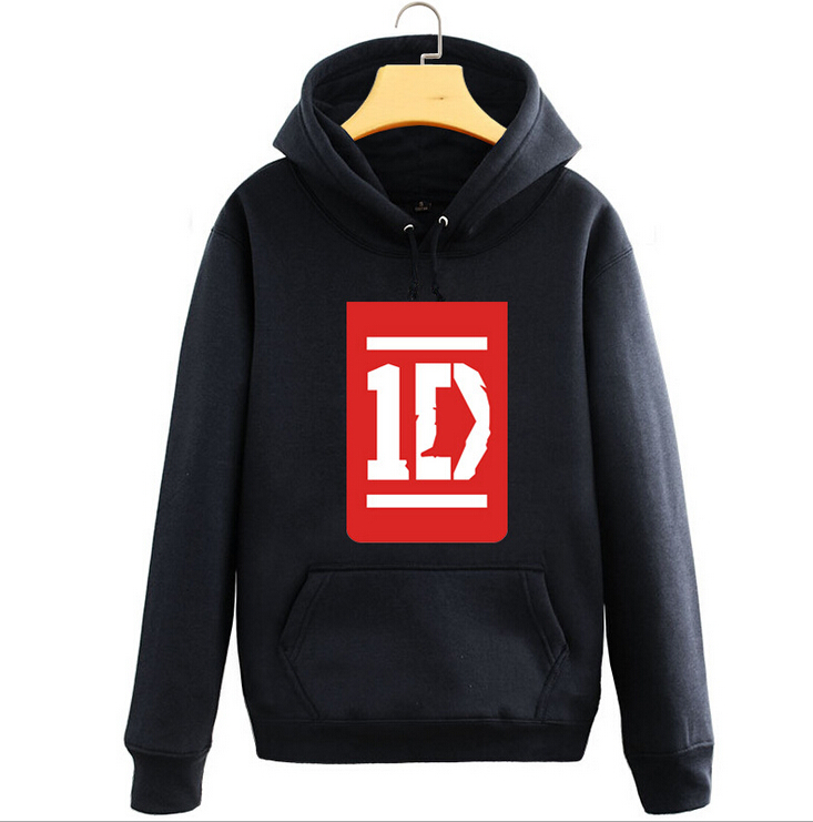 New One Direction hoodie 1D ROck men hooded Fall and Winter Cotton Jacket Sport Sweatshirt Coat(China (Mainland))