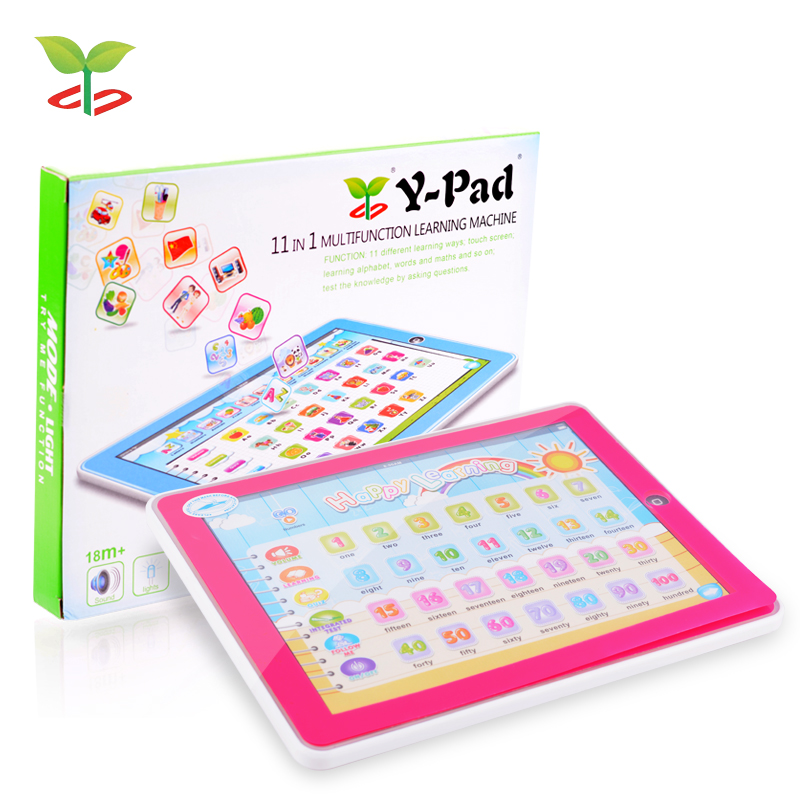 Hot Sale New English Ipad Toys Children Study Early Learning Machine Tablet Computer Educational Reading Machine For Kids 82921t(China (Mainland))