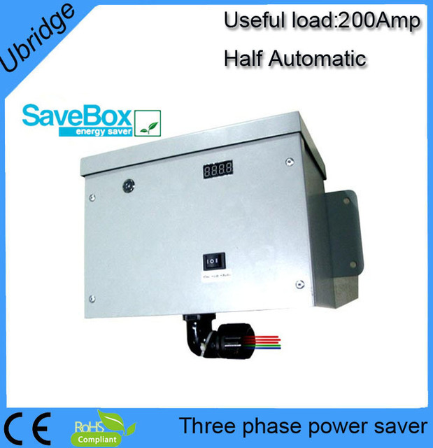 200AMP three phase power saver for industry,LED,LCD display(UBT-3200A)