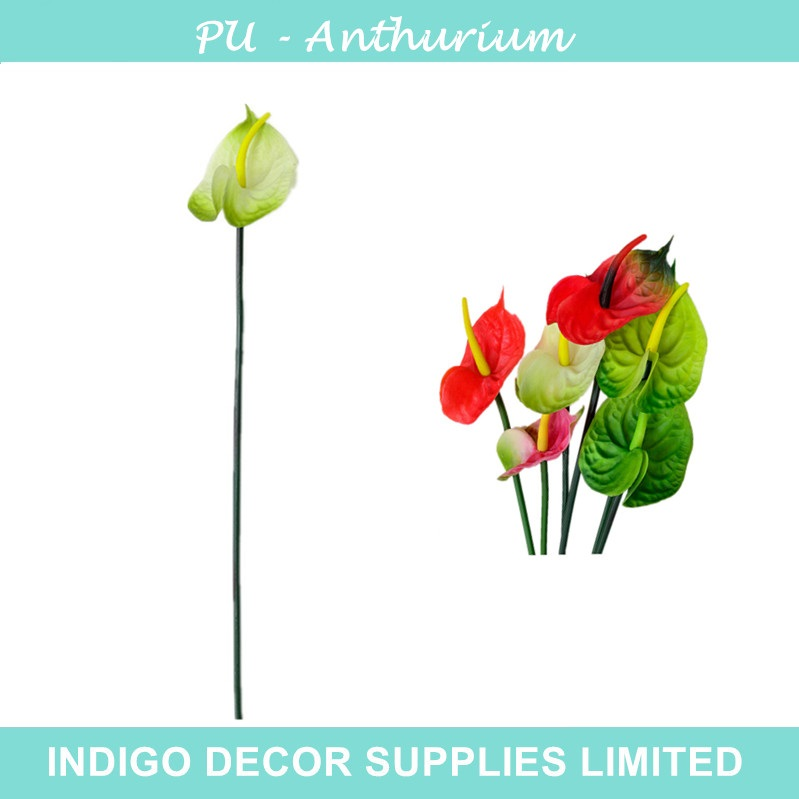 5pcs/lot White Anthurium Latex Calla Real Touch Wedding Display Flower Calla Artificial Flower Home Decorative Flower Wholesale(China (Mainland))
