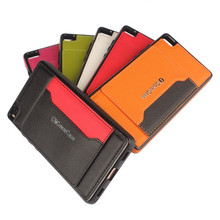 Luxury Litchi grain PU leather Flip Case Cover For Huawei P8 (5.2 inch) Brand Wallet Card Slot Holder phone bag