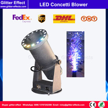 Buy DJ night club stage special effect wedding celebration color paper mini small LED confetti cannon shooter blower machine for $328.00 in AliExpress store