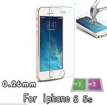 Tempered Glass For 5s Protective Glass For Iphone 5s Premium Glass For iPhone 5c Screen Protector for iPhone 5s protective film