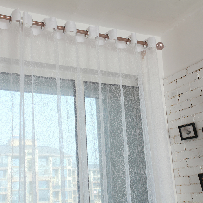 Hot bird nest shade tulle for window curtain fabric finished blinds modern sheer curtains for kitchen living room the bedroom(China (Mainland))