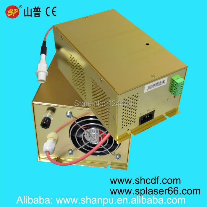 100w co2 laser power supply for laser cutting engraving machine 80w laser tube Shanghai SP V4 Laser tube(China (Mainland))