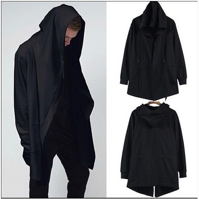 2015 New fashion man cloak men hoodies hip hop style sport hoodie long sweatshirt chandal sudaderas hombre	moleton masculino - Yanwen365's store