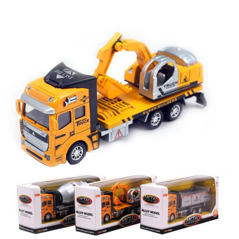 Free shipping Hot sale engineering vehicle Alloy toy cars HT2629(China (Mainland))
