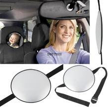 Hot Black Car Safety Easy View Back Seat Mirror Baby Facing Rear Ward Child Infant Care Wholesale(China (Mainland))