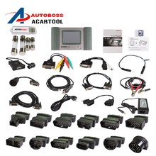 Top-Rated 100% Original AUTOBOSS V30 Vehicle Diagnostic Computer Update Online AUTOBOSS V30 Auto Scanner without Plastic box(China (Mainland))