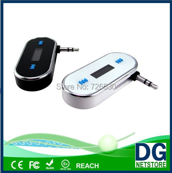 smart phone music stereo used in car with 3.5mm aux-in plug fm modulator(China (Mainland))