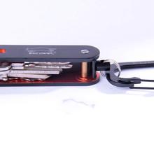 Edcgear keysmart propulsé trousseau double oxydation de couleur en alliage d'aluminium key holder(China (Mainland))