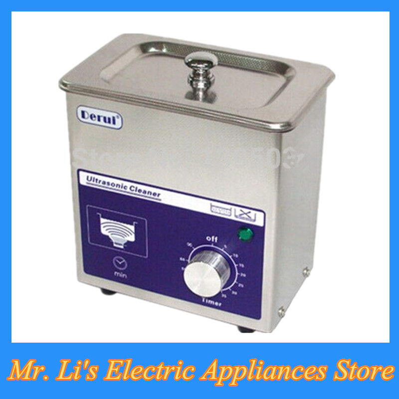 80W high power ultrasonic cleaner machine household jewelry glasses dentures ultrasonic washing machine DR-MS07(China (Mainland))
