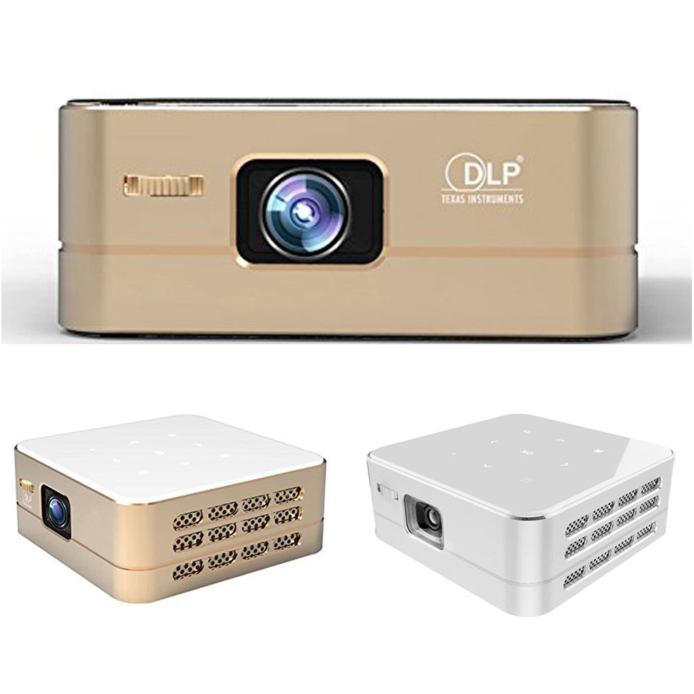 P96 Portable Wireless Projector LED Hdmi HD Projector 100 Lumen Wifi Bluetooth Mini Home Cinema Theater Android System Projector(China (Mainland))