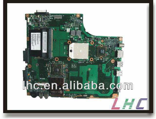 V000108680 for toshiba A215 A210 A205 laptop motherboard 6050A2127101-MB-A02 AMD integrate and fully tested well