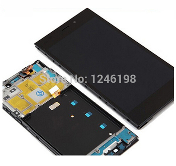Best Woking Full LCD Display + Touch Screen Digitizer Assembly For Xiaomi m3 mi3 xiao mi with Front Frame/Bezel WCDMA