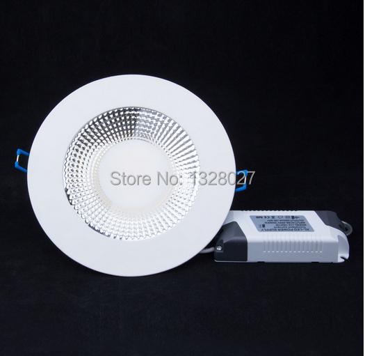 15W 20W 25W COB led panel light Kitchen Lighting Round 120 degrees beam angle Anti-fog 110v 220v free shipping(China (Mainland))