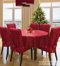 Red Beautiful Jacquard Spandex Wedding Chair Covers/ Folding Hotel Decoration/Universal Wedding Chair Cover 4PCS/LOT(China (Mainland))