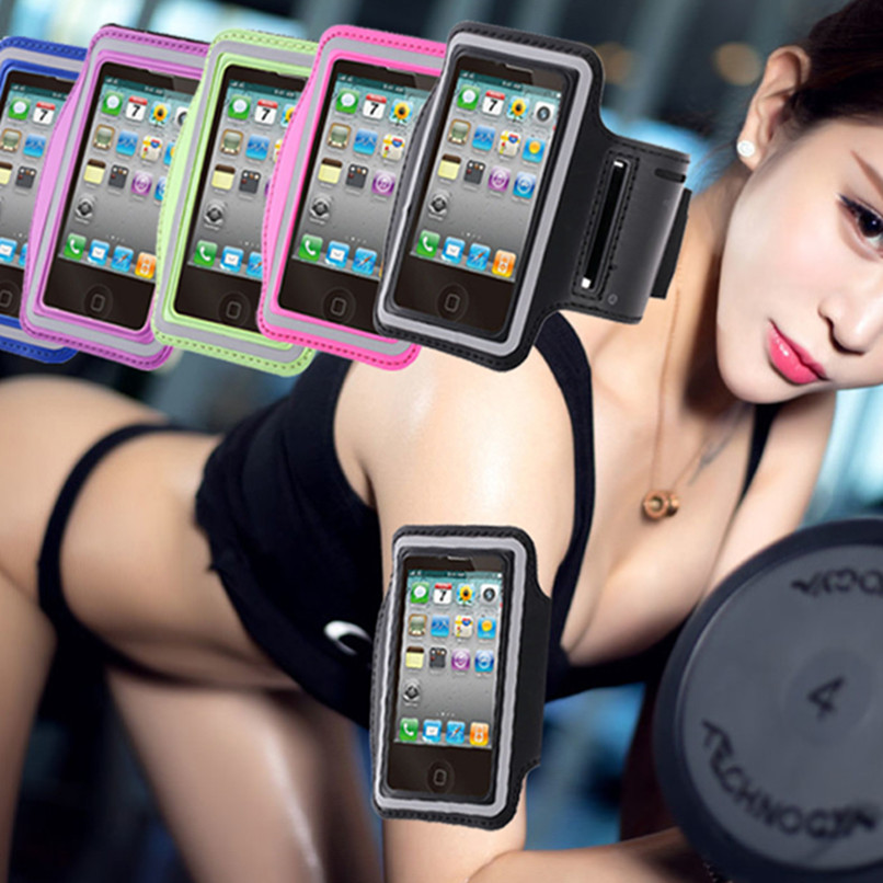 Sport Gym Running Arm Band Holder Pounch Belt Case For Sony Xperia E3 E4 E4G C3 C4 C5 M M2 M4 M5 Z1 Z3 Z5 MINI Compact L35H L36H(China (Mainland))