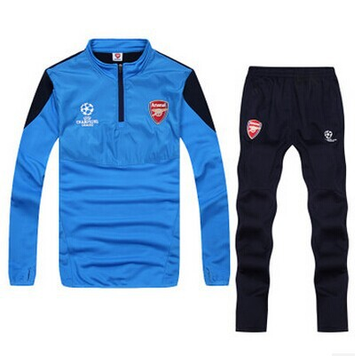 Long Sleeved Shirt Mens Sleeve Champions League football suit Special training wear long sleeved + FOOTBALL PANTS - taifen zhang's store