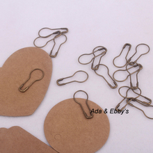 Silver/ Black/Bronze/Golden Steel Safety Pins, Tag Accessory, 22mm, 1000pcs/lot(China (Mainland))