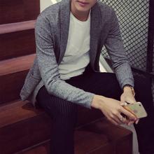 Spring male men sweater cardigan V-neck autumn long sleeve slim mantissas fashion(China (Mainland))