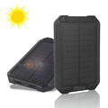 DCAE New Waterproof Solar Power Bank 10000mah Dual USB 5W Solar Panel Battery Charger for For