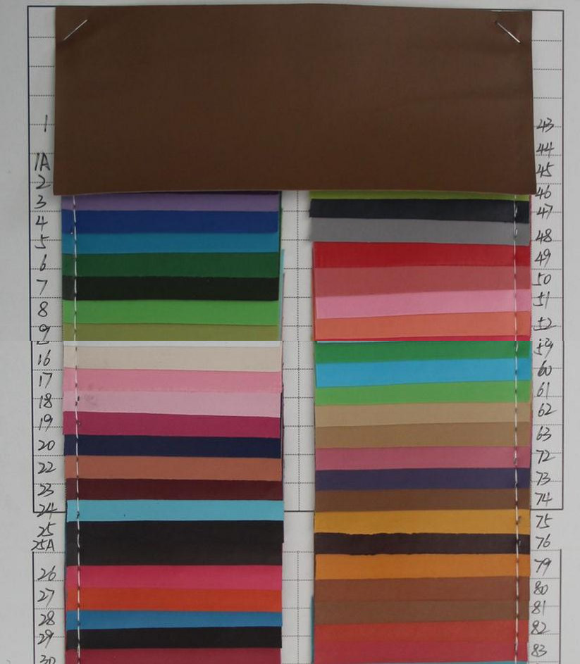 thin 0.5mm PVC leather fabric Spunlace bottom artificial leather material wholesale factory cheap price(China (Mainland))