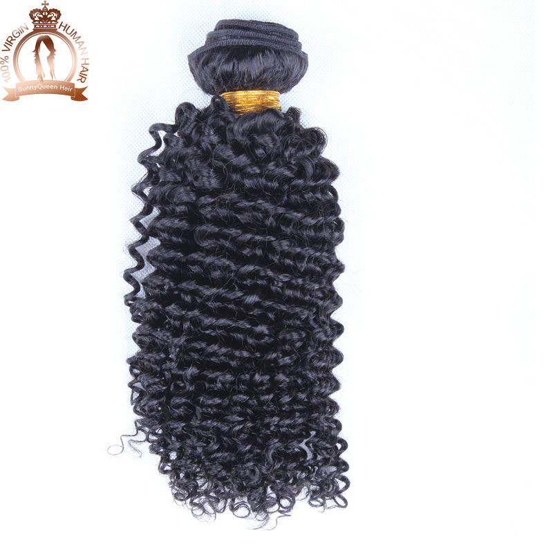 Cheap Malaysian Curly Hair 1pc bundle 5A malaysian virgin hair weave 100g/pc kinky curly virgin hair extension natural black <br><br>Aliexpress