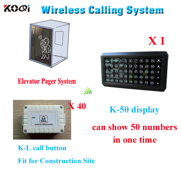 2015 hot selling lift wireless telecommunications elevator mm call button building site transmitter receiver christmas(China (Mainland))