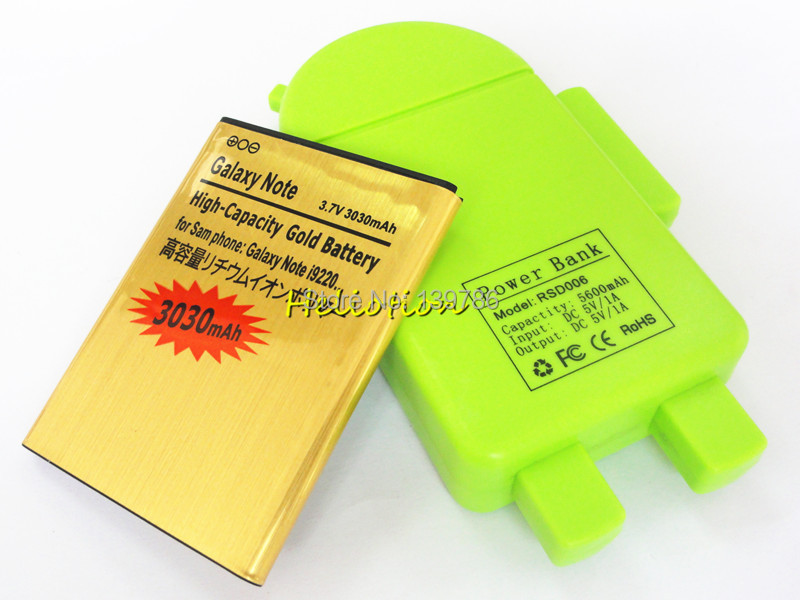 High Capacity Gold Battery Samasung Galaxy Note GT-N7000 i9220 i9228 i889 3030mAh EB615268VU Replacement Cell Phone - SHENZHEN HELIOTION ELECTRONIC TECHNOLOGY CO.,LTD store