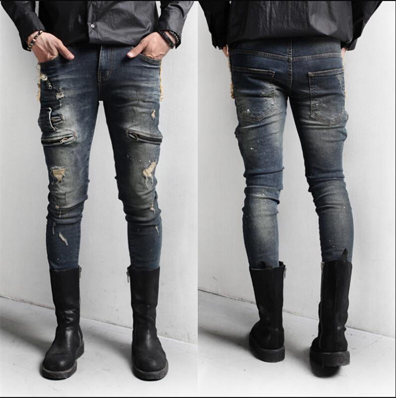 High Quality Slim Fit Jeans Men-Buy Cheap Slim Fit Jeans Men lots