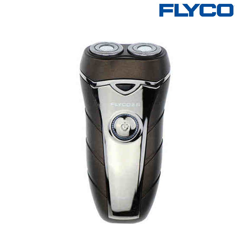 Flyco Shaver Men's Beard Knife Rechargeable Face Care Electric Razor Rotary Blade 2 Floating Shaver with Automatic Voltage FS877(China (Mainland))