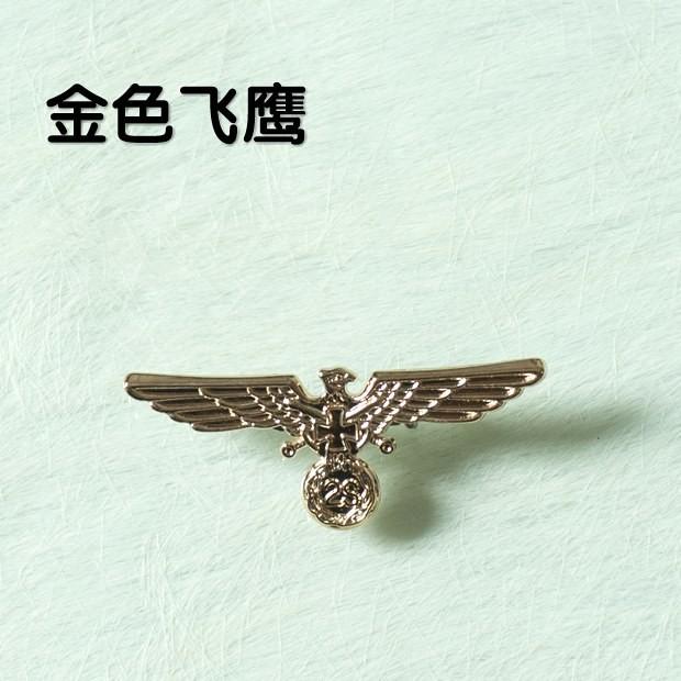 Retro Germany Eagle Fashion Metal Alloy Badge With A Pin German Militares Insignia Badge Wholesale Free Shipping(China (Mainland))