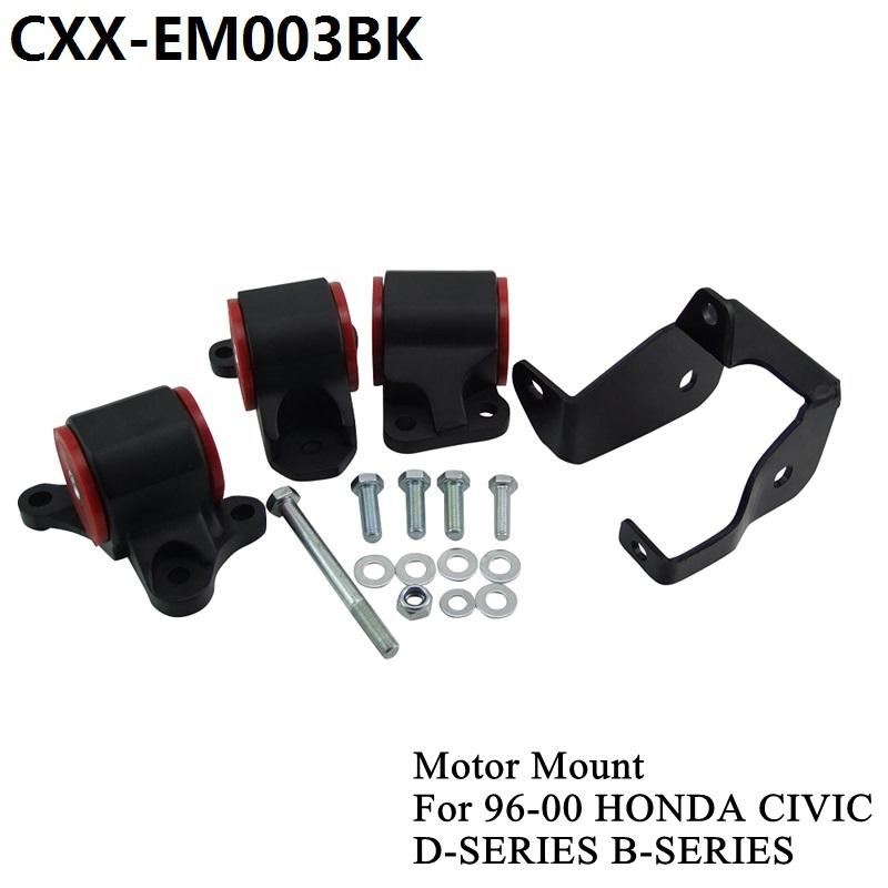 PIVOT - Hot sales Aluminum (3-bolt Left Mount) sport Engine Swap Mount Kit for D-Series or B-Series DC2 EK CXX-EM003BK<br><br>Aliexpress