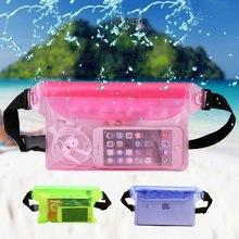 Transparent Coin Purse Phone Waterproof bag Transparent Touch Screen Mobile Phone Waterproof Bag Outdoor Travel Essential bag