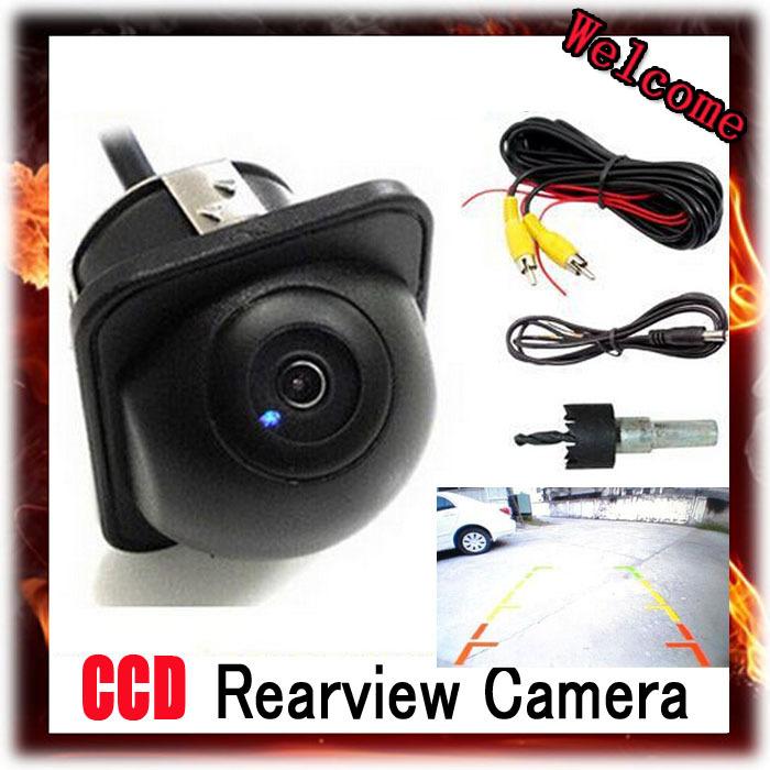 CCD HD Night Vision Car Rear View Camera Reverse Backup Color Parking Camera/ camera for car,Free Shipping(China (Mainland))