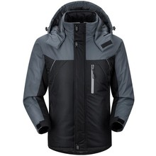 2014 New Outdoor Clothes Outerwear high quality Men Sports Coat Winter Waterproof Man Skiing Jacket  SMW010