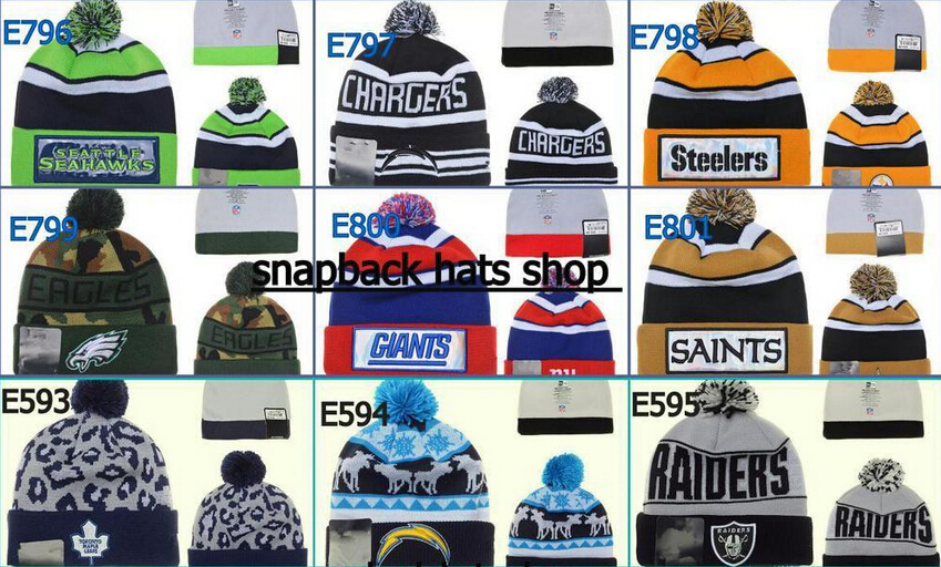 Cheap men fashion winter hat, basketball Skullies,Sport beanie hat,Football knitted hats 5pcs/lot(China (Mainland))