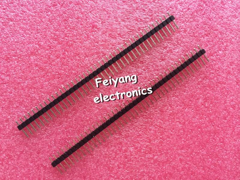 Разъем FY 10 40 Pin 1 x 40 2,54 Arduino 40 Pin 1x40 Single Row Male 2.54