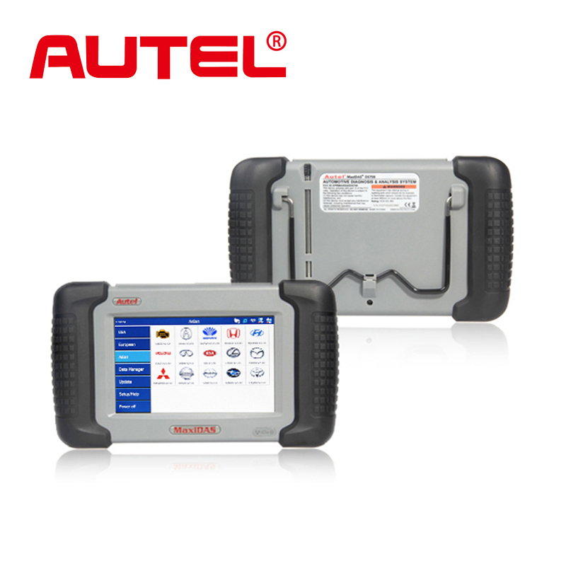 100% Original Autel DS708 Automotive Diagnostic and Analysis System Live data ECU programming ALL electronic system DHL Shipping(China (Mainland))