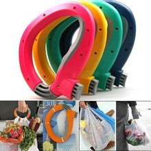 Home One Trip Grips Shopping Grocery Bag Holder Handle Carrier Lock Kitchen Tool(China (Mainland))