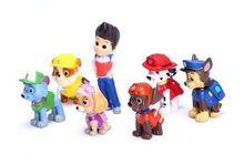 12pcs/lot Paw Patrol Dog Kids Toys Puppy Patrol Doll Action Paw Patrol Pup Buddies Figures Toys Anime Figure(China (Mainland))