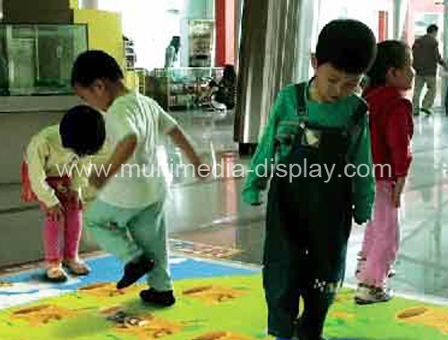 CE of Interactive Floor System for wedding advertising exhibition kid games event wholesale retail at best price(China (Mainland))