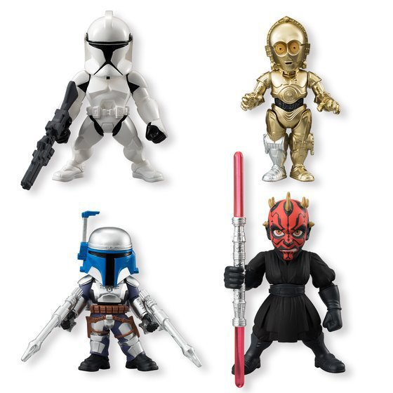 Movie Star Wars 7 The Force Awakens Darth Maul C-3PO Light Doll Stormtrooper Starwars Action Figure Model Toys 12cm 4pcs/set<br><br>Aliexpress