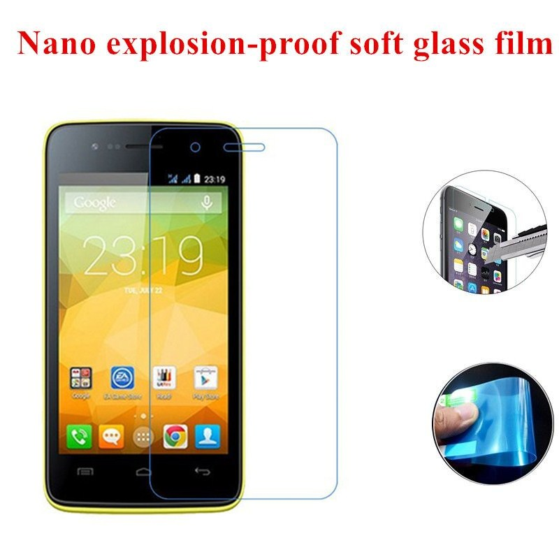 Nano Explosion-proof Soft Glass Clear Screen Protector Protective Film for Explay Onyx(China (Mainland))