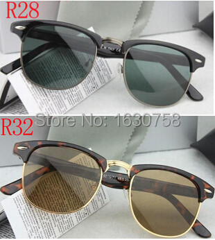 2015 New Men / Women Brand Designer Retro Clubmaster rb 3016 ray band Sunglasses Glasses High Quality With Original Packaging(China (Mainland))